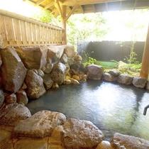 *ゆったりとした広さの貸切露天風呂