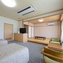 【和洋室】客室の一例です。ごゆっくりお寛ぎ下さい。