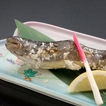 【一品料理】 岩魚の塩焼き