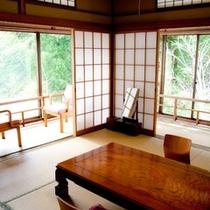 【竹の間】 ※その他客室については、『客室のご案内』ページをご参照下さい。