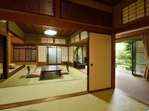客室一例 露天風呂付客室 和室