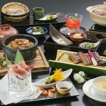鰻の蒲焼に、肝吸い、石焼ご飯他、鰻以外も内容充実!の鰻石焼会席