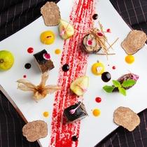 [フランス料理]季節のプレート(イメージ)