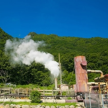 ■九重地熱発電所■