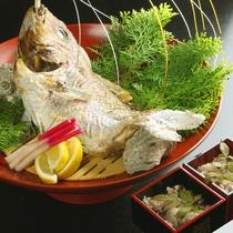 ■料理21(鯛塩焼)