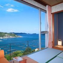 ■海幸園客室よりの眺めN