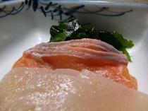 食事(刺身)