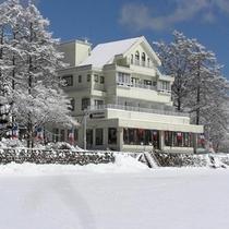 ■外観写真(冬)