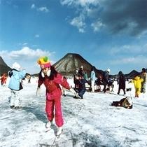 ■榛名湖アイススケーティング(冬)