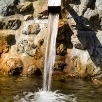 3ヶ所の源泉より豊富な天然温泉を引湯しています。