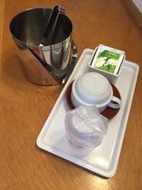 お茶セット、アイスペール