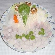 【夕食一例】雑賀崎漁港のハモを使ったはもちり