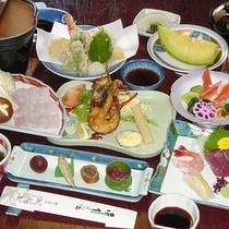 【夕食一例】伊勢海老バター焼き付き会席