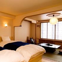 ◆囲炉裏を備えた特別室でごゆっくりと・・・