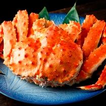◆4大夕食~タラバガニ(約1.6キロ)