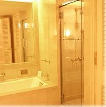 スイートルームのお風呂