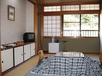 冬の和室7.5畳