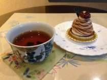 金沢棒茶とスイーツ