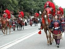 百万石祭り 赤母衣衆