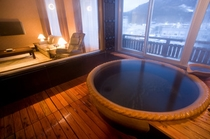 貴賓室の露天風呂