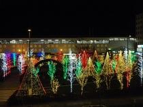 上田駅冬2