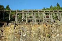 鉱山選鉱所跡