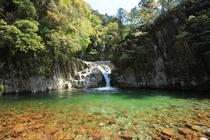 ガンガラ滝