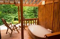 客室さくら 露天風呂