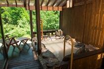 客室かえで 露天風呂