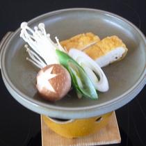 【夕食一例】竹田名物!あげの陶板焼き