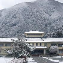 【外観】雪景色