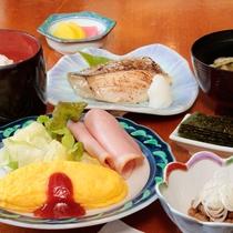 【朝食一例】朝食は1階のレストランでお召し上がりいただけます。7:00~8:30
