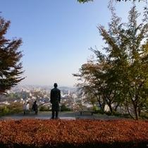 織姫神社 神社からは足利市内が一望できます♪