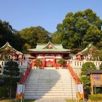 織姫神社 恋愛の神様が宿る神聖な神社です♪