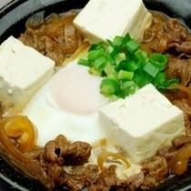 花々亭メニュー『牛すき焼き豆腐煮』