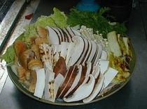 松茸入りすき焼き