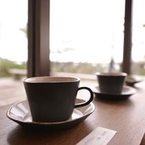 *お土産処/野呂山で作った陶芸品。素敵なカップで飲むコーヒーはふだんよりもっと美味しく感じるはず☆