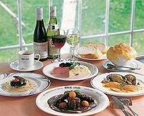 仏コースのディナーの一例