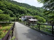 ◎菊水舘へ向かう高砂橋