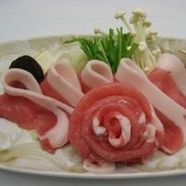 *白金豚味噌すき焼き(当社名物)