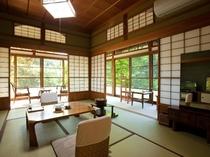 ◇【竹の間5 二間】 角部屋 新緑