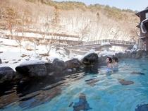 『自炊部』 混浴露天風呂 《大沢の湯》 【冬】