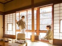 ★【梅の間】 広縁 冬