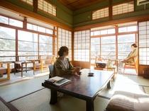 ◆【松の間5 二間】 角部屋 冬