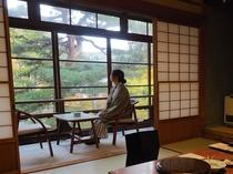 ■【松の間3 二間】 広縁 秋