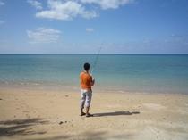 石垣島の海にてフィッシング