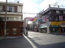 島最大の繁華街美崎町