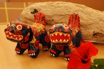 琉球玩具『シーサーあかべこ』