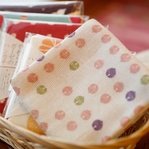 京都くろちくの和雑貨も当館でお土産として購入できます