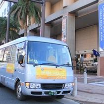 【かりゆしライナーバス】恩納村かりゆしビーチへの無料送迎バス